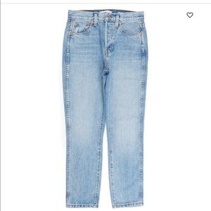 Re/Done Original Double Needle jeans.